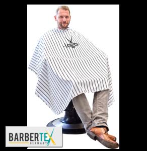 Barberumhang mit Logo