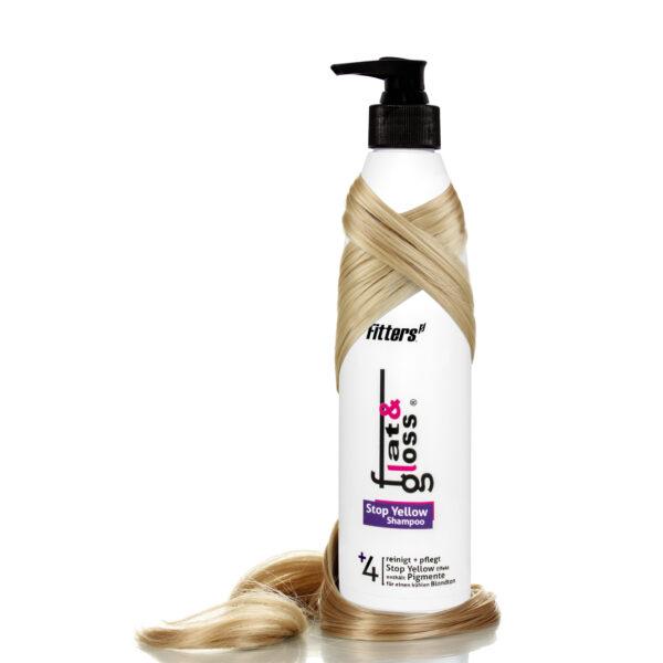 Stop Yellow Shampoo Friseur